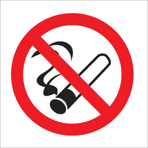 do not smoke in car