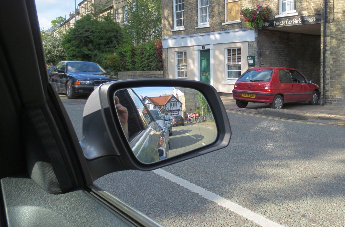 Adjust mirrors correctly