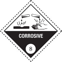 Corrosive substance